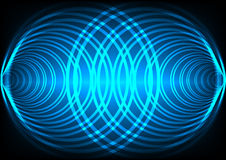 Abstract background wave surround technology Royalty Free Stock Images