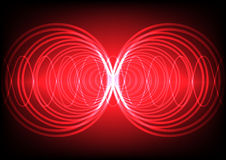 Abstract background wave surround technology Royalty Free Stock Image