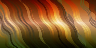 Abstract background with wave. Vector illustration Stock Photography