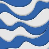 Abstract background with waves. Abstract wavy background. Blue and white stripes. Abstract background with waves. Abstract wavy background Royalty Free Stock Photos