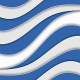 Abstract background with waves. Abstract wavy background. Blue and white stripes. Abstract background with waves. Abstract wavy background Royalty Free Illustration