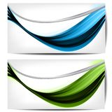 Abstract background with waves and lines Royalty Free Stock Photos