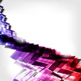 Abstract background with waves and lines Royalty Free Stock Image