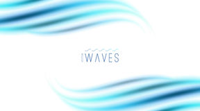 Abstract background with waves Stock Photos