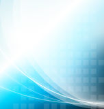 Abstract. Background with wavy light Stock Photos