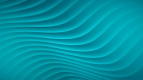 Abstract background with wavy lines. In light blue colors royalty free illustration