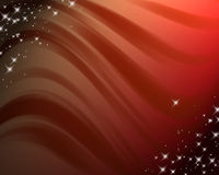 Abstract background with wavy lines and gradient Royalty Free Stock Images