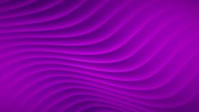 Abstract background with wavy lines. In purple colors Stock Illustration