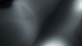 Web background from wavy metallic Grid. 3d rendering modern surfece, computer generated