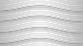 Abstract background of wavy stripes. Abstract background of wavy white stripes with shadows Vector Illustration