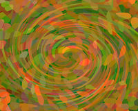Abstract background with whirling mosaic Royalty Free Stock Images