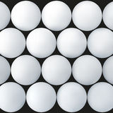 Abstract background with white balls Stock Photos