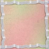 Abstract background with white beautiful pearls Royalty Free Stock Photography