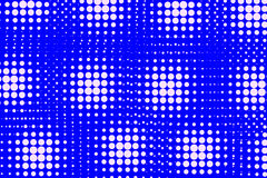 Abstract background of white and blue dots. Royalty Free Stock Photo