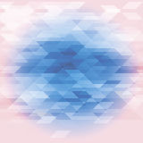 Abstract background in white and blue tones. Diamonds and triangles Royalty Free Stock Photos