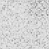 Abstract background: white boxes. Three-dimensional illustration of background with white boxes royalty free illustration