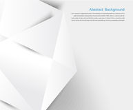 Abstract background. White geometric Stock Photo