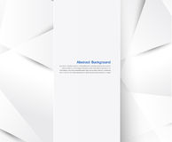 Abstract background. White geometric Stock Image