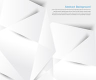 Abstract background. White geometric Stock Photos