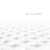 Abstract background with white geometric shapes. White and grey smooth texture. Vector illustration - eps10 Stock Photos