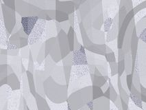 Abstract background, white gray silver contemporary ornament pat. Abstract background, white gray silver contemporary ornament motion, pattern concept stock illustration