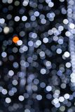 White and grey bokeh lights royalty free stock photos