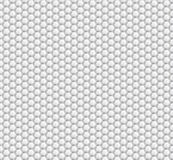 Abstract background of white hexagons. Wallpapers for web sites. Small honeycombs are connected. Vector. Illustration Royalty Free Stock Images