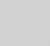 Abstract background of white hexagons. Wallpapers for web sites. Very small honeycombs are connected. 3D. Illustration Stock Images