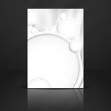 Abstract Background With White Paper Circles Stock Images
