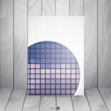 Abstract Background With White Paper Circles. Vector Illustration. Eps 10 Royalty Free Stock Photos