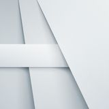 Abstract  background with white paper layers Royalty Free Stock Photos