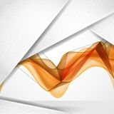 Abstract Background With White Paper Layers Stock Image