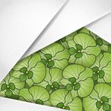 Abstract Background With White Paper Layers Stock Photos