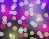 Abstract background with white, purple and yellow and pink blurr. Ed lights - vector for disco, celebration and party concept Stock Illustration