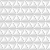 Abstract background with white pyramids. Stock Image