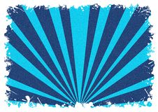 Abstract background white splash blue stripes Royalty Free Stock Photo