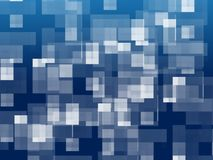 Abstract background -- white square Royalty Free Stock Photos