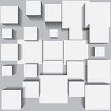 Abstract background with white square. Eps10 Royalty Free Stock Images