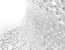 Abstract background with white squares Stock Images
