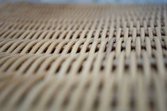 Abstract background of a wicker basket as a symbol of hand made wickerwork Stock Images