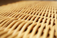 Abstract background of a wicker basket as a symbol of hand made wickerwork Royalty Free Stock Image