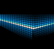 Abstract light background. Abstract background wiht blue light Royalty Free Stock Photo
