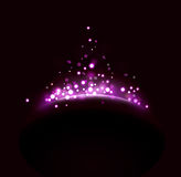 Abstract light background. Abstract background wiht color spotlight Royalty Free Stock Photos