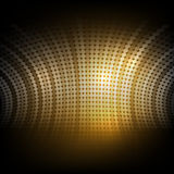 004 Abstract background wiht dot and circle element vector illus Royalty Free Stock Photos