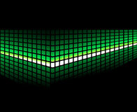 Abstract light background. Abstract background wiht green light Stock Photos