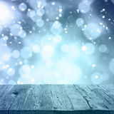 Abstract background winter season Stock Images