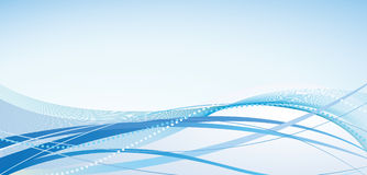 Abstract Background With Blue Shades Royalty Free Stock Photography