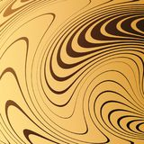 Abstract Background With Distorted Lines. The Curvature Of Space. Fluid Motion. Stock Photos