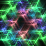 Abstract Background With Multi-coloured Stars Royalty Free Stock Photography