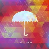 Abstract Background With Rain Pattern. EPS 10 Stock Image